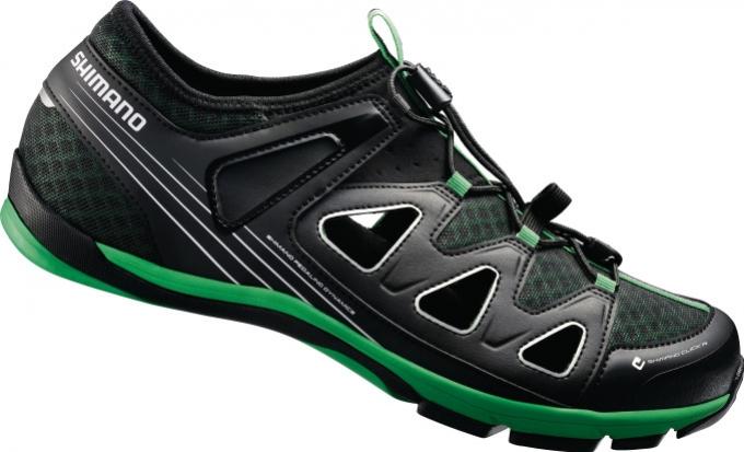 Shimano-obuv boty Shimano CT46LG černé Velikost: 38