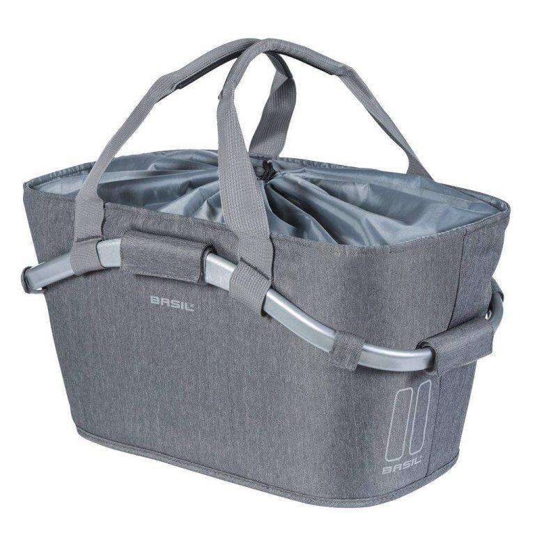 brašna BASIL Carry All šedý na nosič MIK systém