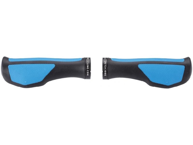 gripy BBB ErgoFix černé/modré BBB