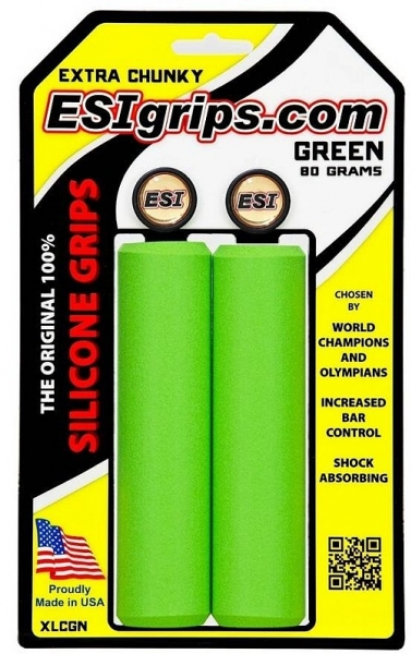 gripy ESI Chunky Extra zelené