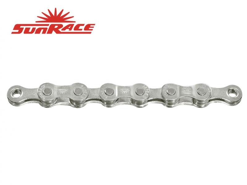 řetěz SunRace CNM84 8k 116čl. stříbrný