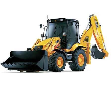 Traktor-bagry (backhoe)