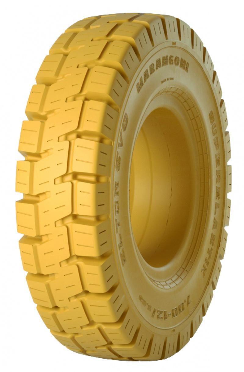 Superelastické pneu na vzv