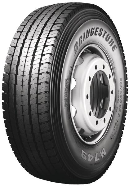 Bridgestone M749 ECOPIA 315/80 R22,5 154/150 M M+S