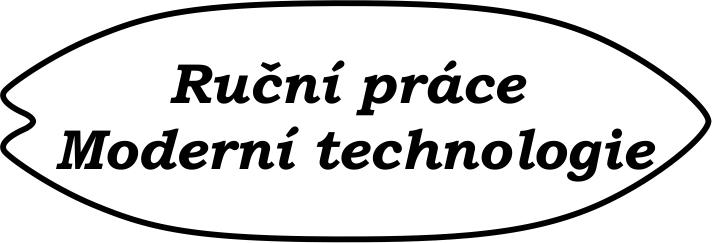 Ruční práce - Moderní technologie