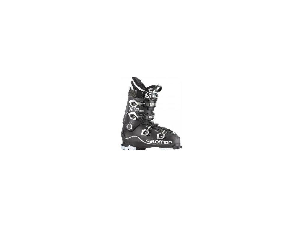Salomon  X Pro 100 Černo/Černá 354693 14/15 - Tavení na míru zdarma (Velikost 47 1/3)