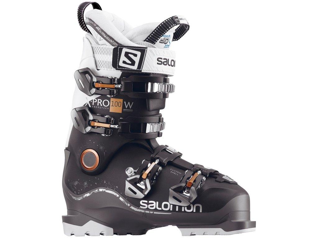 salomon x pro 100 ski boots women s 2018 black anthracite white (1)
