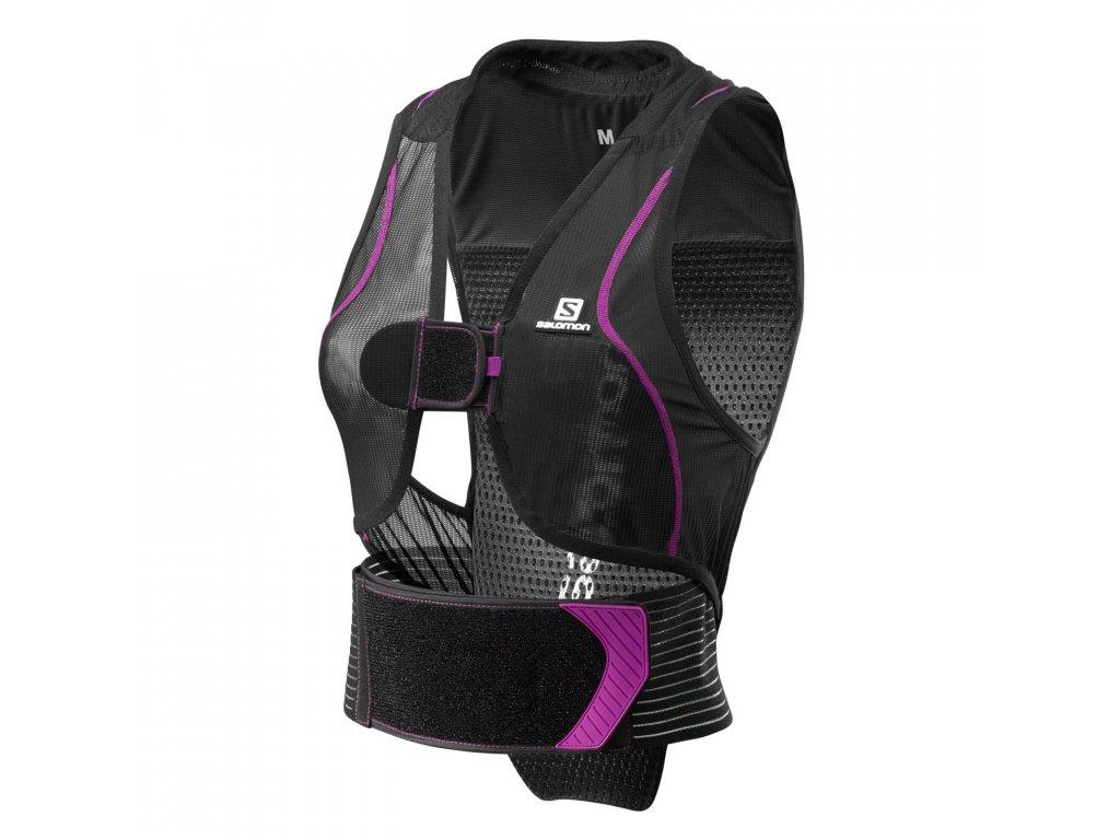 Salomon Flexcell women black/purple 17/18 (Velikost L)