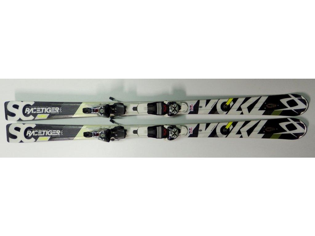 Volkl Racetiger SC UVO black 14/15  + vázání xMotion 12.0 D - Testovací (Délka 160)