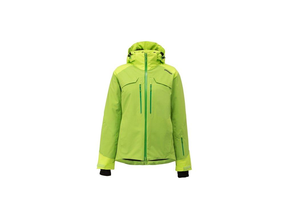 Dámská lyžařská bunda Goldwin g1044l - Zelená (Velikost 38)