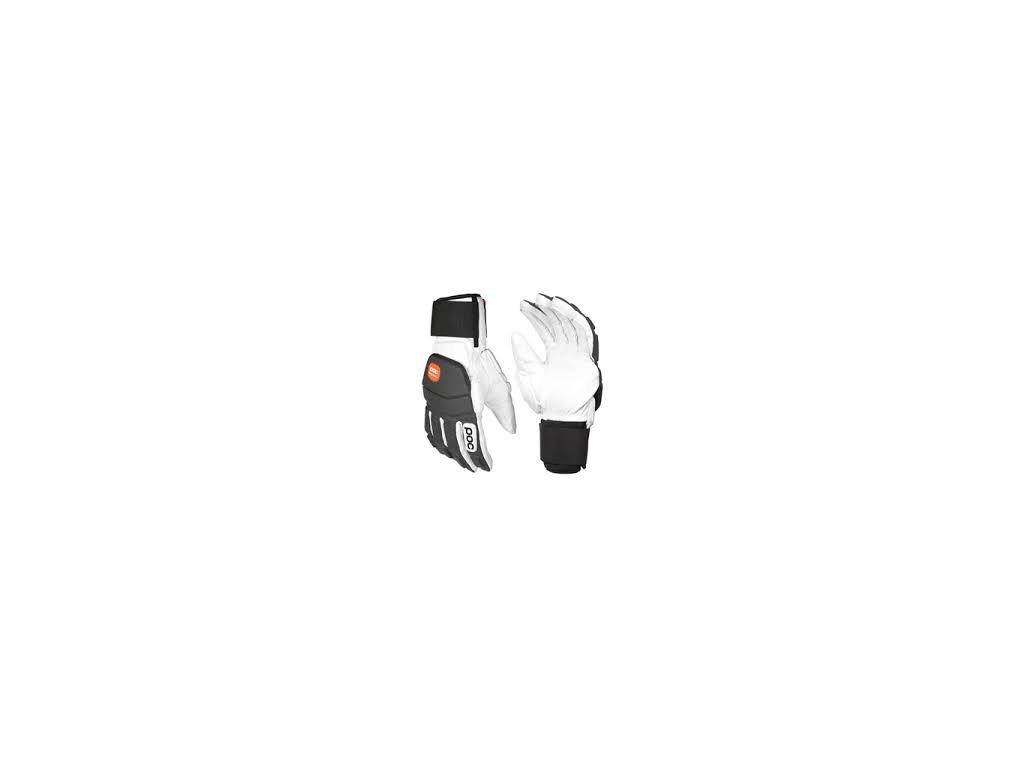 Poc Super Palm comp VPD 2.0 hydrogen white (Velikost 9, Barva White)