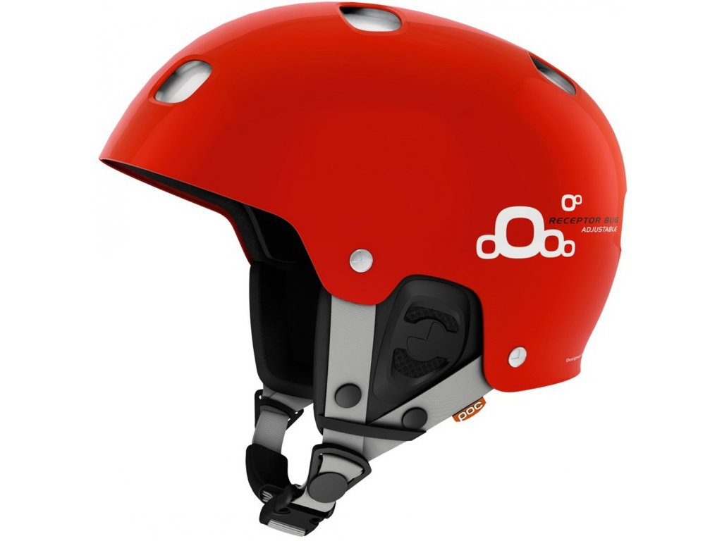 Poc receptor bug adjustable  red/white (Velikost 59-62 cm)