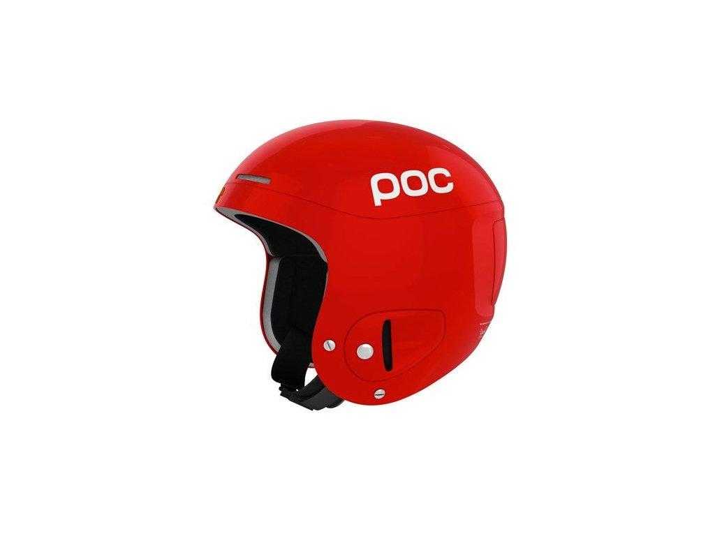 lyzarska helma poc skull x red 2955