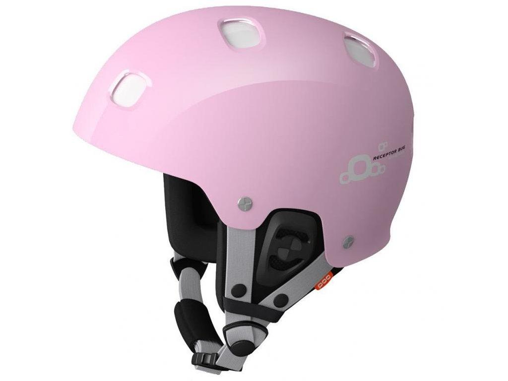 Poc receptor bug adjustable  pink (Velikost 51-54 cm)
