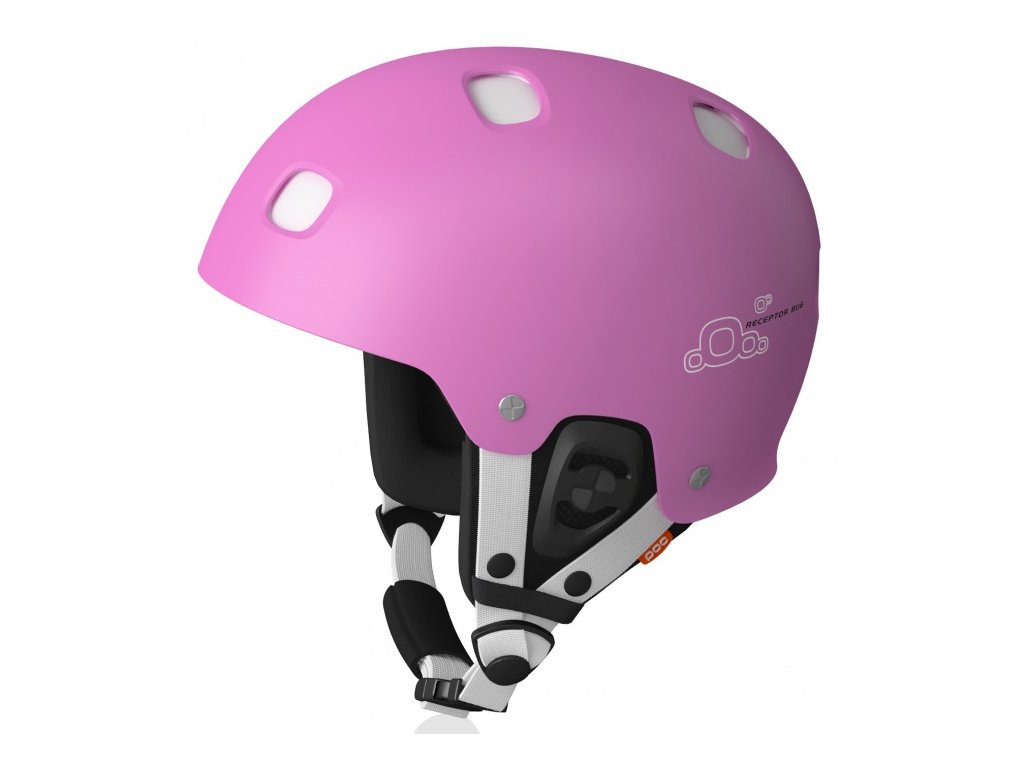 Poc receptor bug adjustable bright pink/white (Velikost 55-58 cm)
