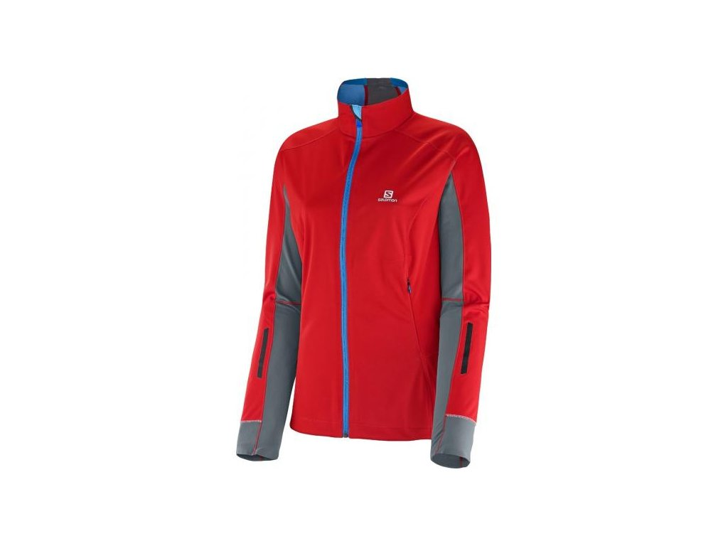 Lyžařská bunda Salomon Equipe Softshell Jkt W 363256 (Velikost M)