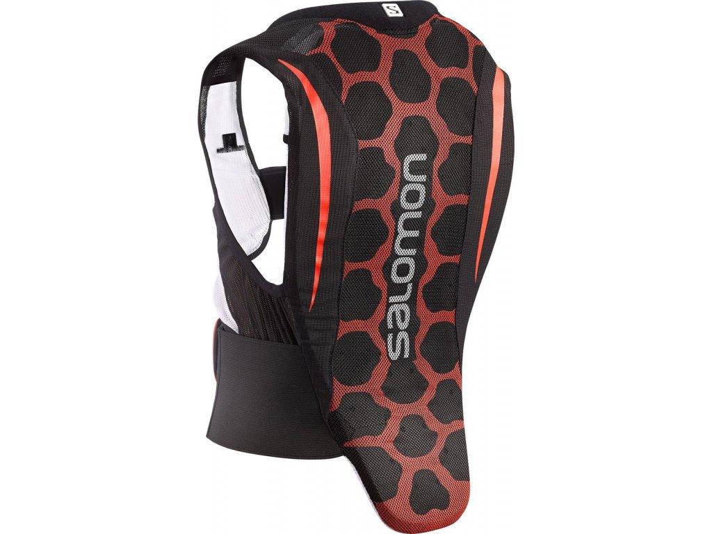 Salomon Flexcell 2 Junior Black/Red 367030 15/16 (velikost JL)