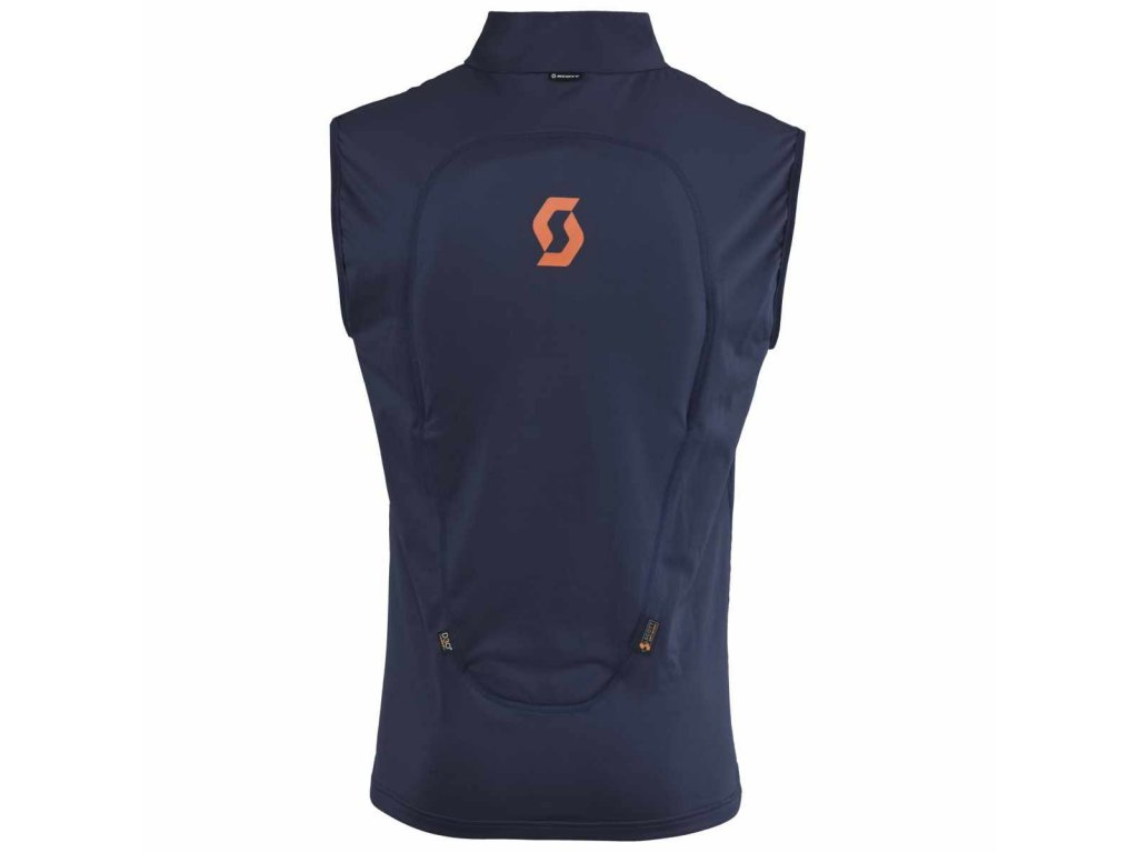 Scott Thermal vest Actifit Black iris/blue 15/16 (Velikost XL)
