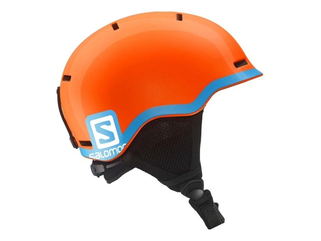 Salomon Grom Fluo Orange/Blue 15/16 (Velikost 53-56 cm)