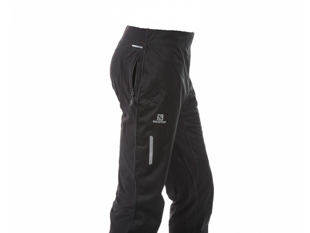 Pánské lyžařské kalhoty Salomon Equipe softshell pant 363265 15/16 (Velikost M)