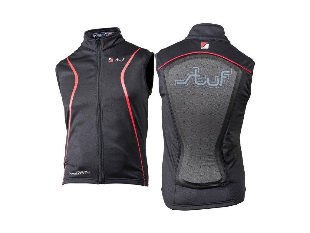 Stuf Anatomic Vest black/red 1004270 15/16 (Velikost S)