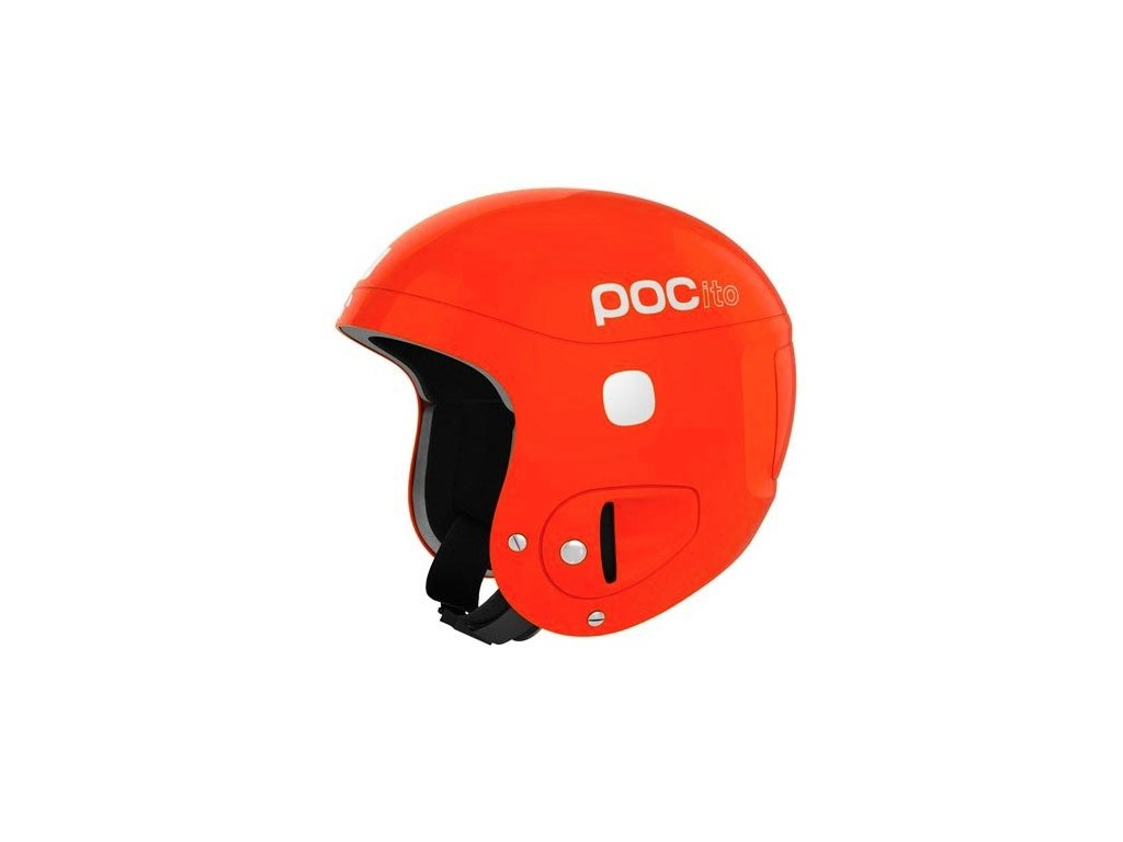 Poc Pocito Helmet Adjustable Fluorescent Orange 102109050 16/17 (Velikost 51-54 cm)