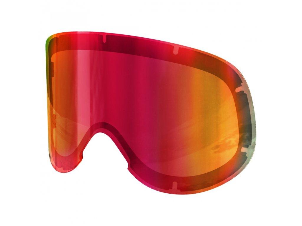 2060 1 nahradni skla lid spare lens persimmon red
