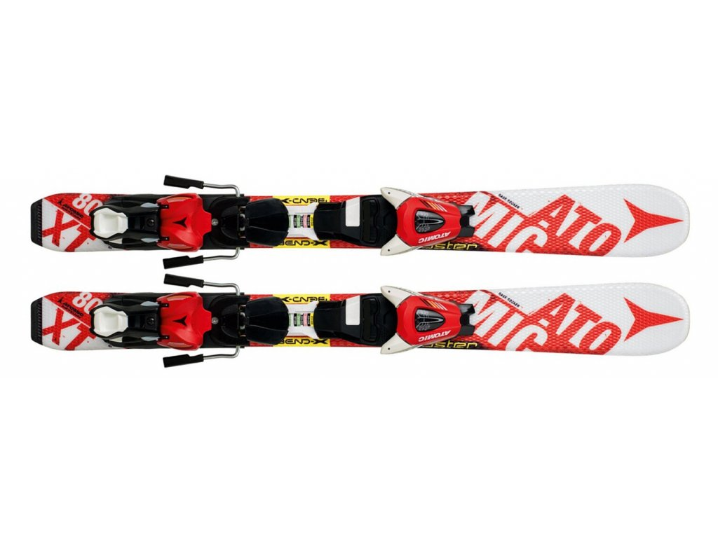 Atomic Redster JR I Etxs White/Red 14/15 + Vázání XTE  045 (Délka 90)