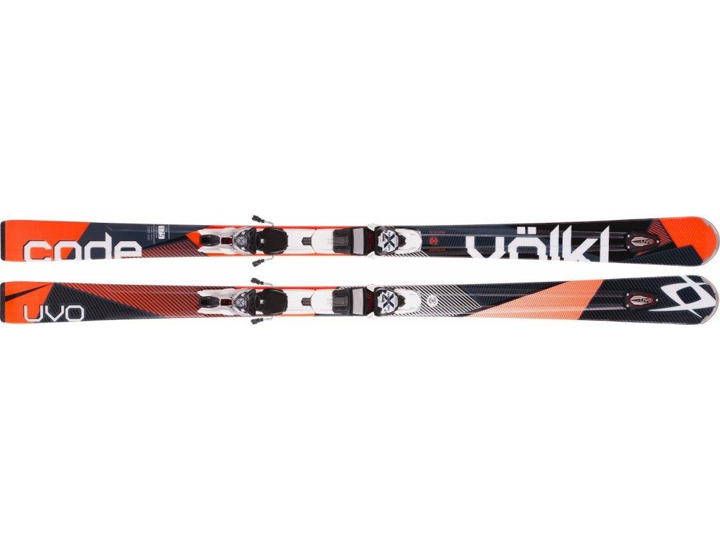 Völkl CODE UVO orange + xMotion 12.0 TCX D 15/16 (Délka 175)