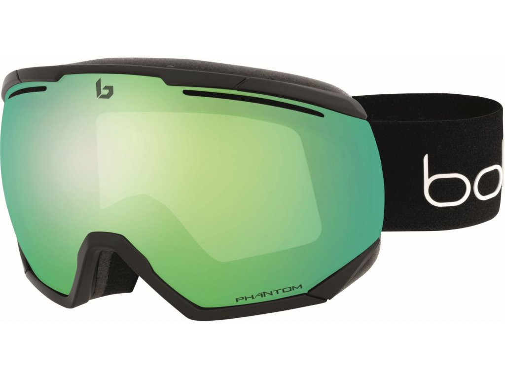 Bollé Northstar - Black Corp Matte / Phantom Green Emerald 20/21