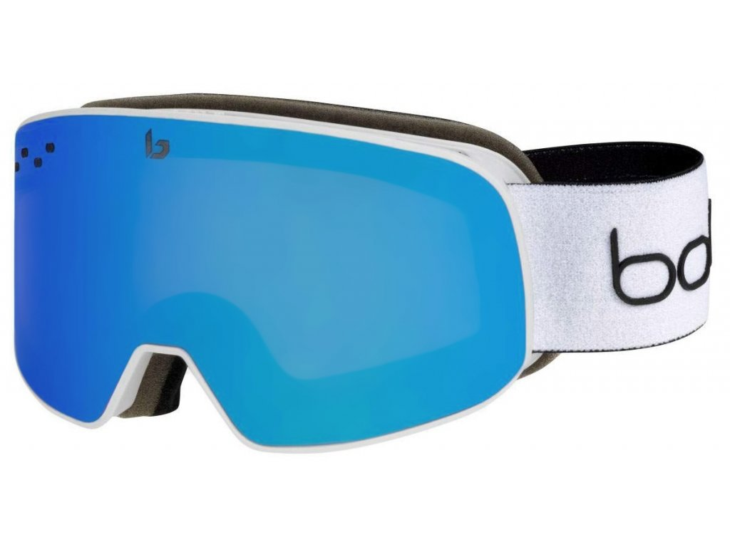 22071 bolle nevada small skibrille weiss