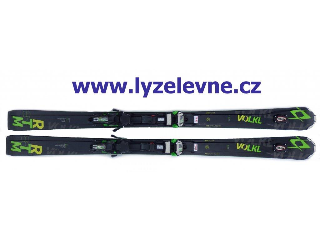 Volkl RTM 86 167cm + Marker Ride 12 15/16 Testovací (Délka 167)