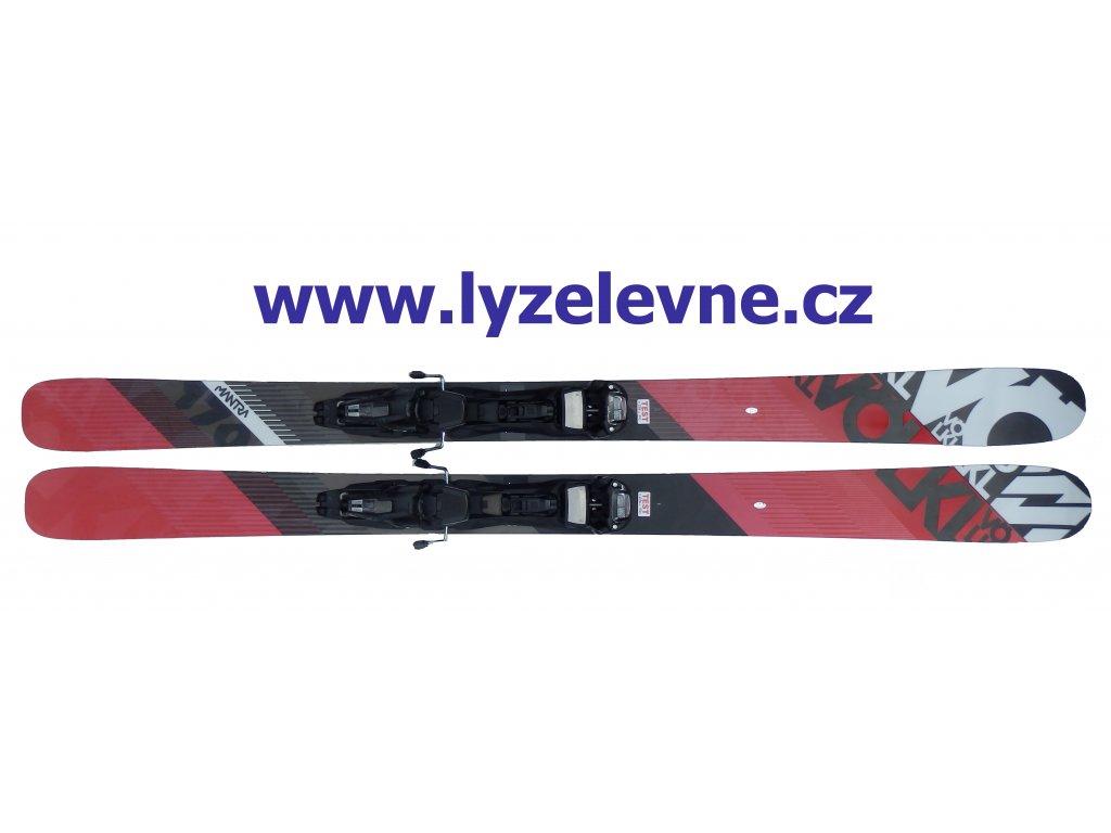 Volkl Mantra 170cm + Marker Duke S 15/16 Testovací (Délka 170)