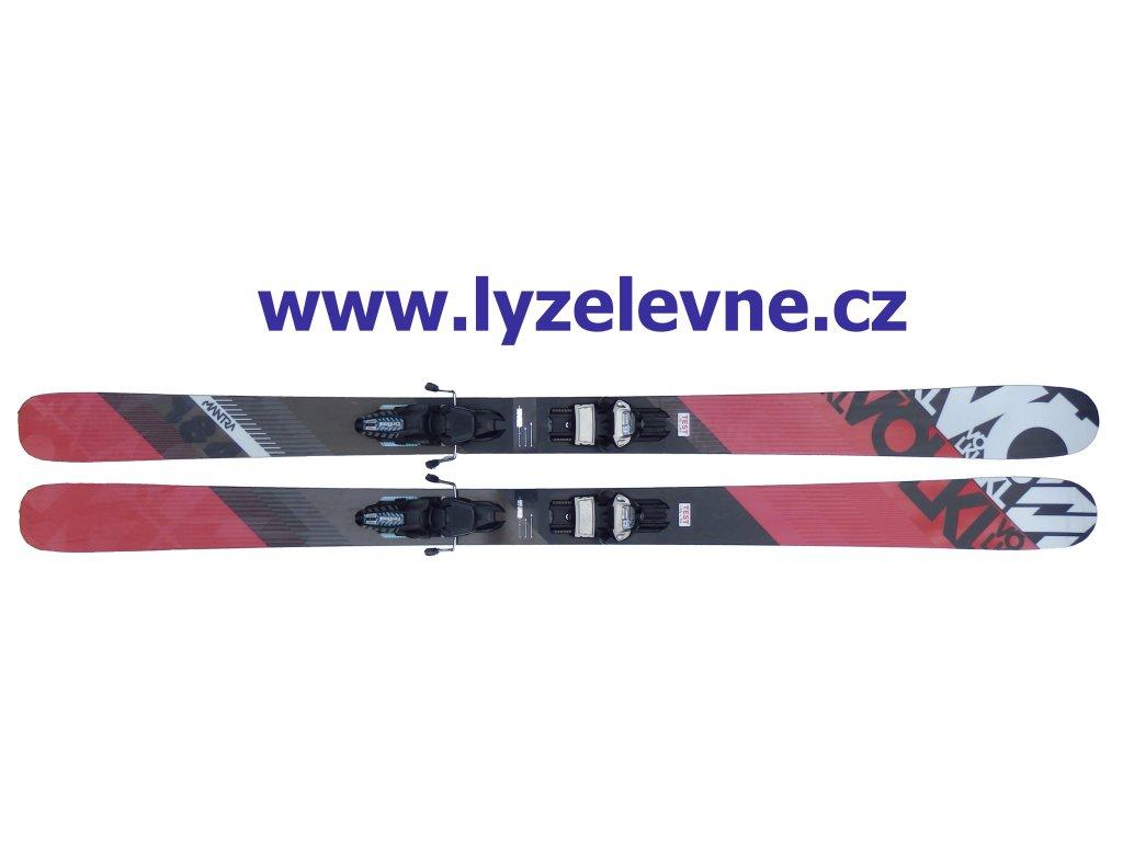Volkl Mantra 184cm + Marker Griffon D 15/16 Testovací (Délka 184)