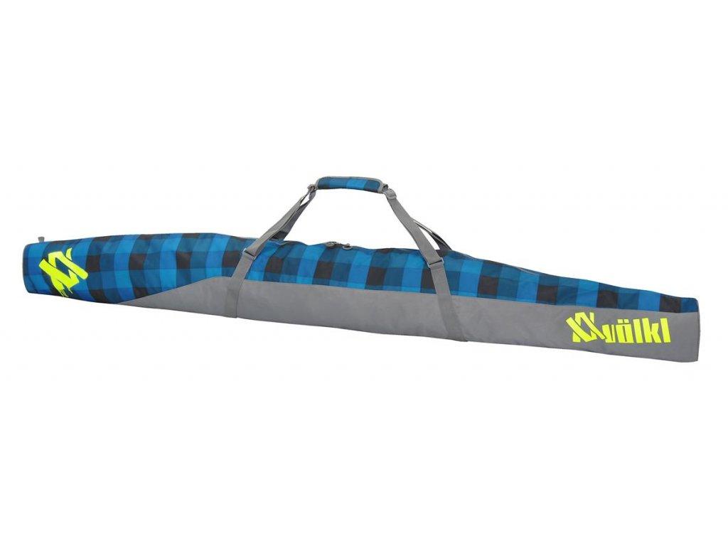 2674 1 volkl free single ski bag denim check 202cm 16 17