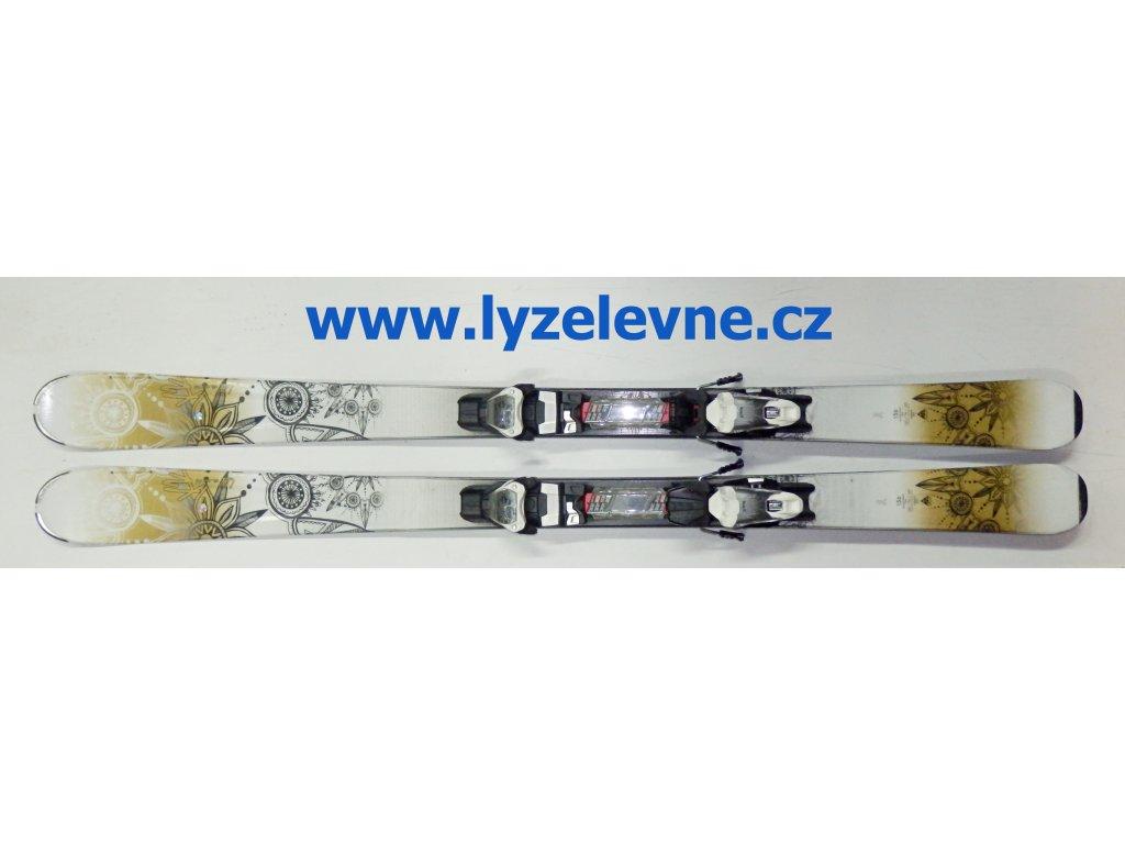 K2 Luv Glam 76 + M10 Použité (Délka 163)