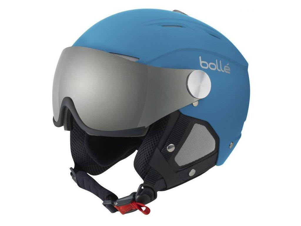 Bolle Backline Visor soft Blue / silver 16/17 (Velikost 59-61 cm)