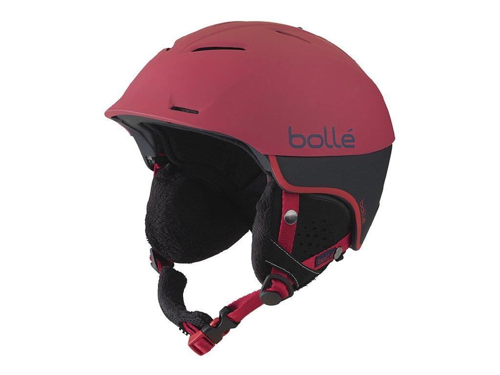 Bolle Synergy Soft Red 16/17 (Velikost 58-61 cm)