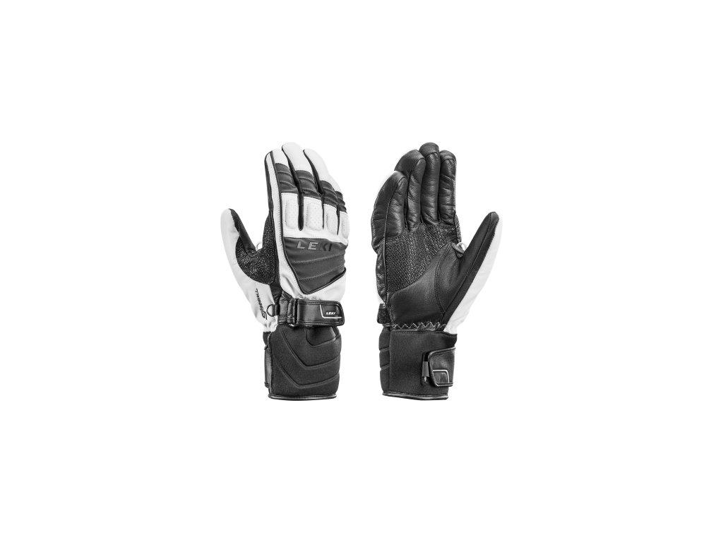 Leki Griffin S White/Grey/Black 636846305 16/17 (Velikost 9,5, Barva Black/Grey/White)