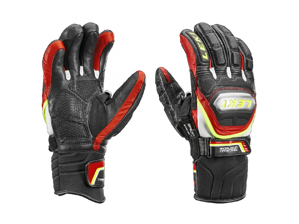Leki Worldcup Race Ti S Speed System black/red/white/yellow 63680173 16/17 (Velikost 9,5, Barva Black/Red/Yellow)
