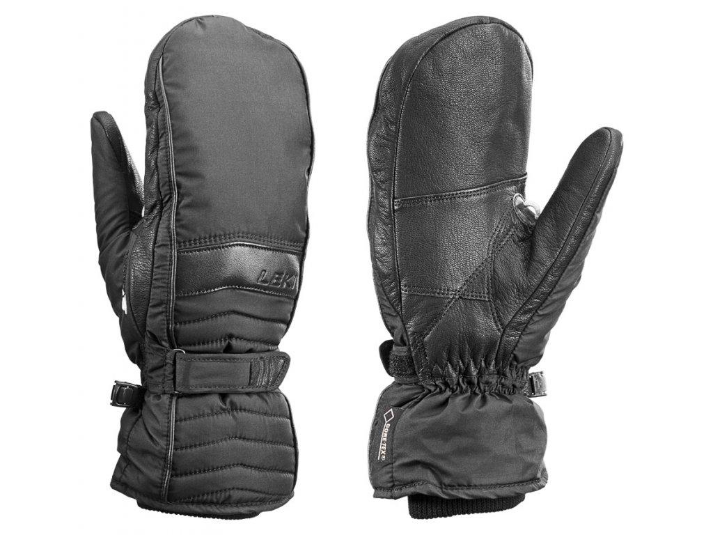 Leki Corvara S GTX Lady Mitten Black 636840501 16/17 (Velikost 8, Barva Black)
