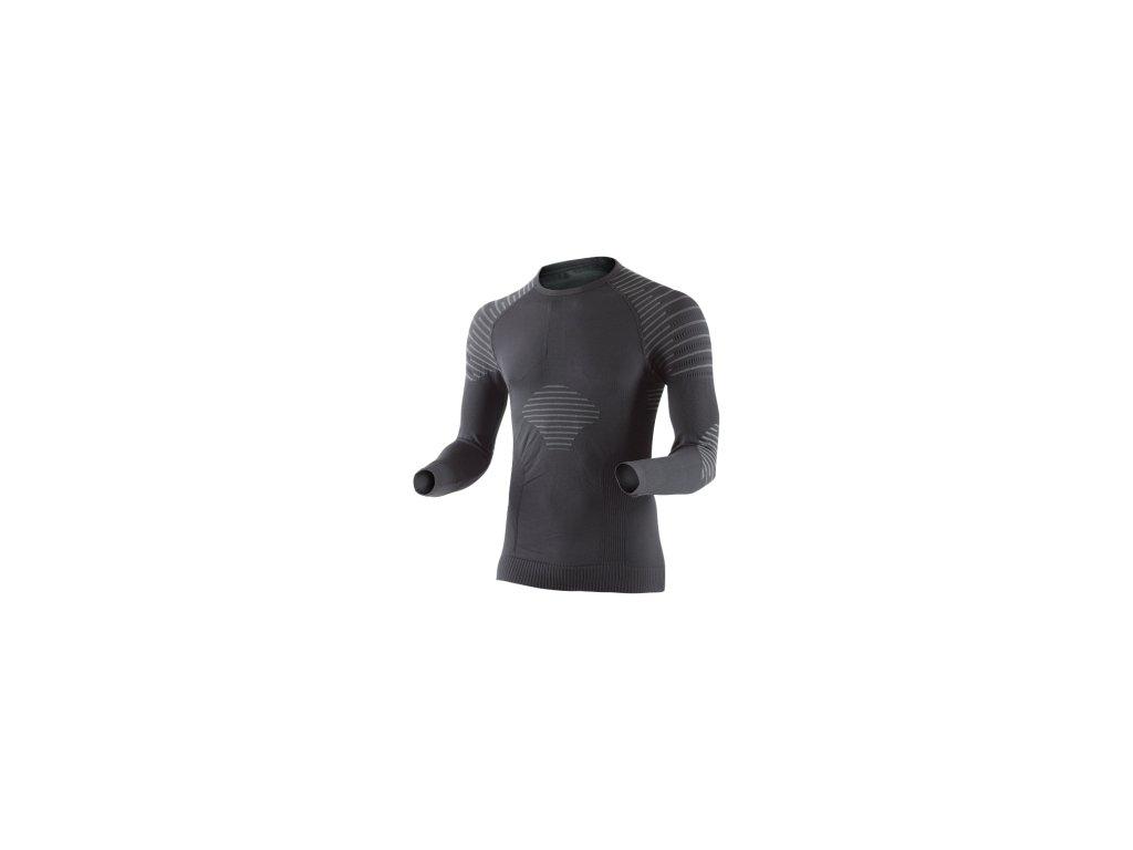 X-Bionic Invent Shirt Long Sleeves Round Neck - Pánské dlouhý rukáv 020270 B014 16/17 (Velikost XXL)