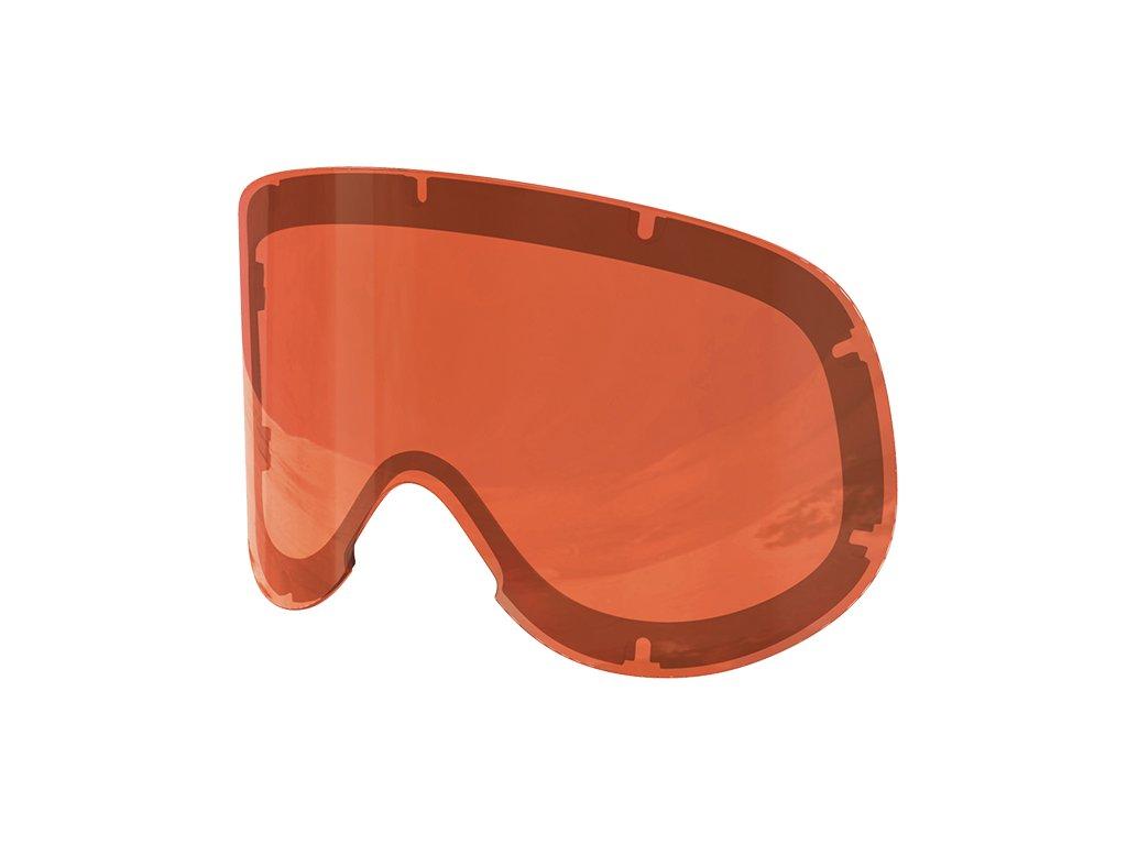 4058 nahradni skla lid spare lens sonar orange