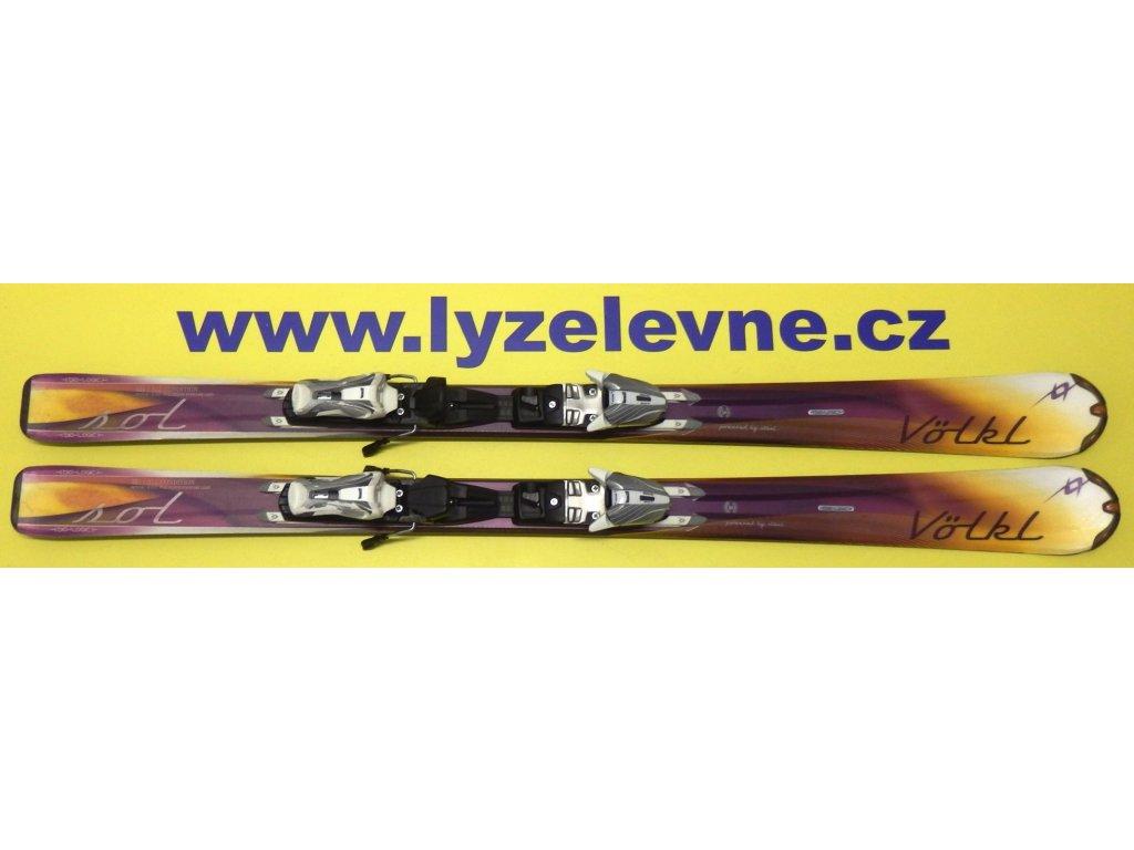 Volkl Attiva Sol 10/11 151cm + Marker Attiva 3 Motion 10,0 D - Testovací (Délka holí 151)