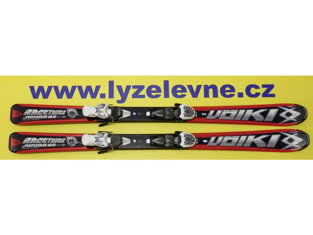 Vokl Junior Racetiger red 11/12 + Marker M 4,5 3Motion (Délka 90)