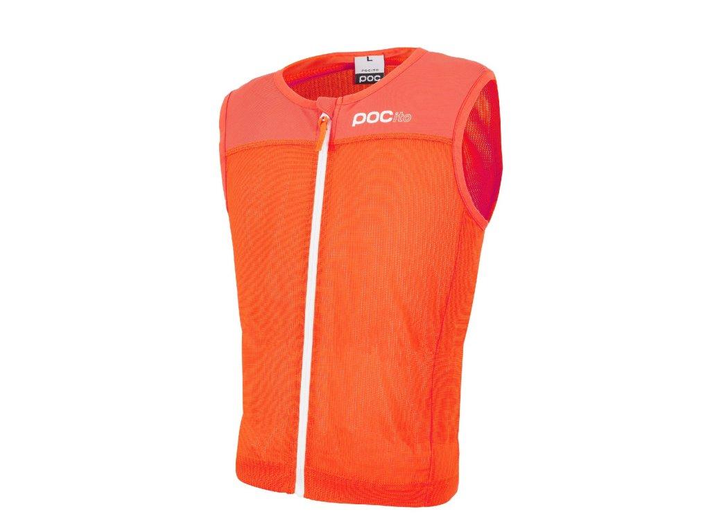 POCito VPD Spine Vest Fluorescent orange 200219050 16/17 (Velikost S)