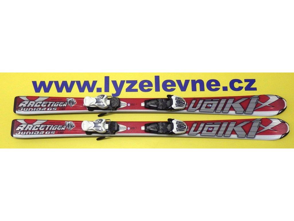 Volkl Junior  Racetiger Gs red 12/13 +  Marker 4,5 3Motion (Délka 120)