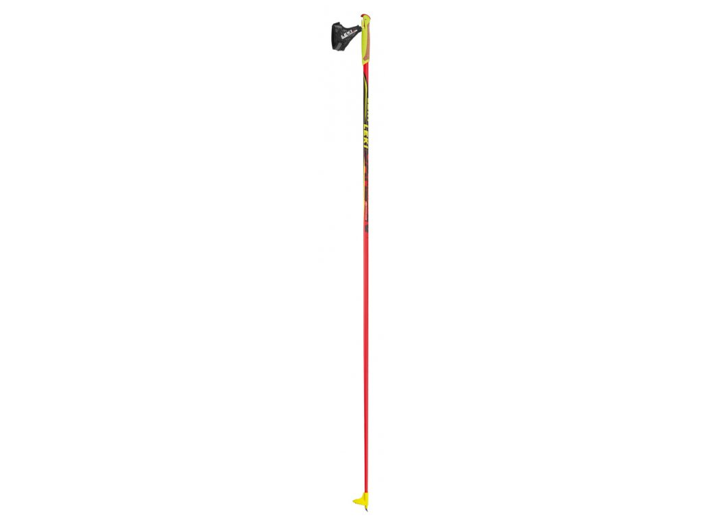 Leki Genius Carbon 6324052 black/red/yellow 16/17 (Délka holí 175)