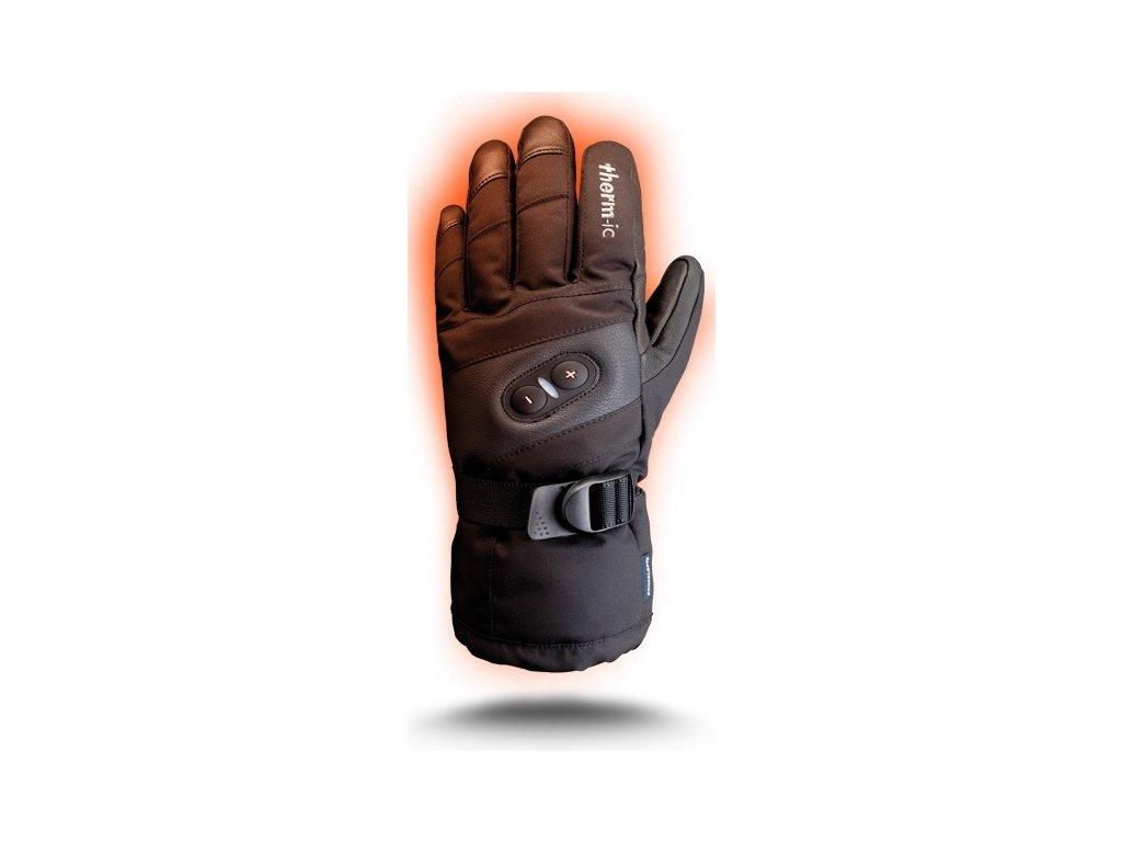 Vyhřívané pánské rukavice Therm-Ic PowerGlove IC 1300 16/17 (Velikost 9,5, Barva Black)