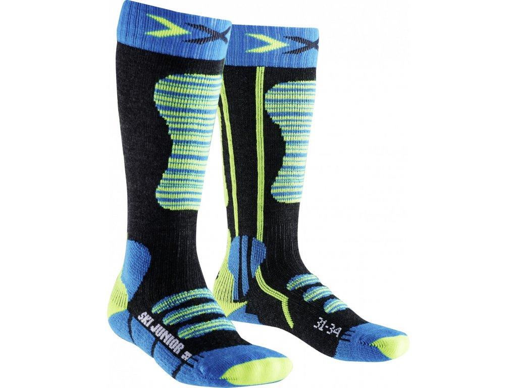 X-Socks Ski junior Turguolse/Yellow 16/17 (Ponožky 35-38)